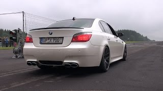 BMW M5 V10 w/ Eisenmann Race Exhaust! Revs + Accelerating!