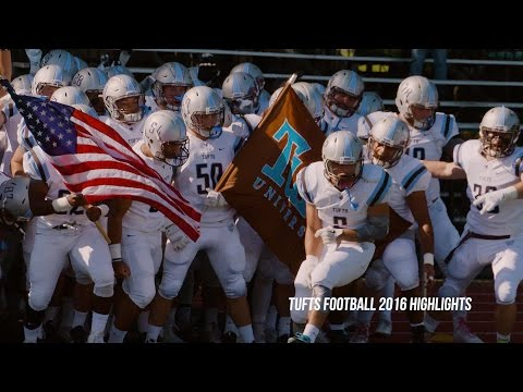 Tufts Football 2016 Highlights