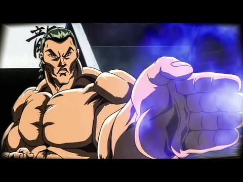 Боец Баки | Рецу Кайо против Ороти Кацуми | Baki The Grappler