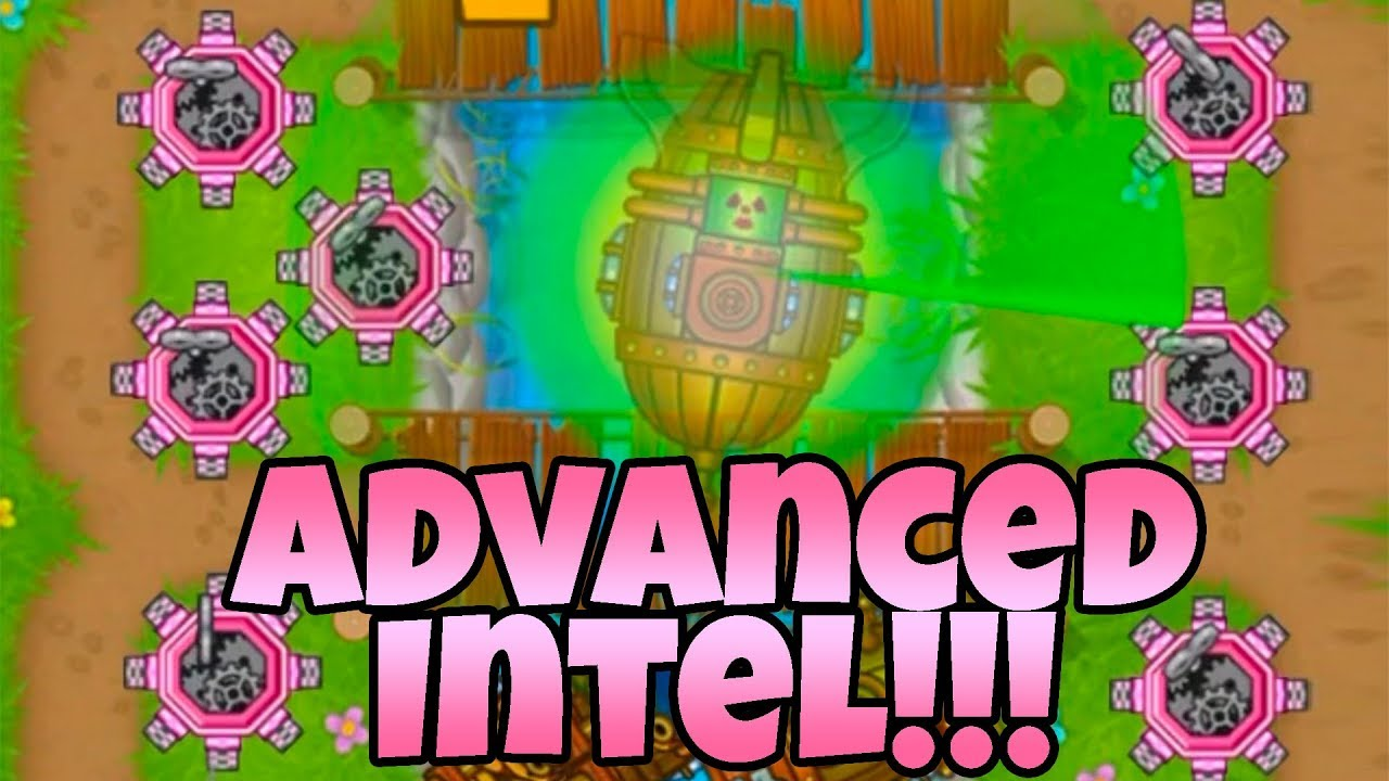 THE ULTIMATE ADVANCED INTEL SET UP - Bloons TD Battles