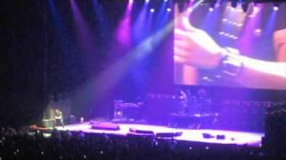 Crazy Guitar Solo - Gus G at Ozzy Osbourne Scream Concert - San Antonio, Texas - 24 January 2011
