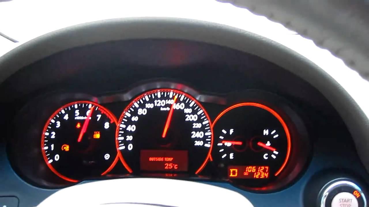 2008 Nissan Altima 3.5 SE V6 CVT Acceleration 0 220 Km/h   YouTube