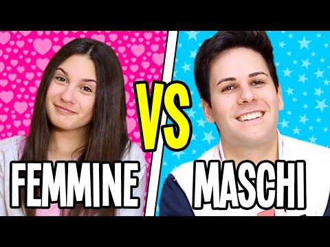 FEMMINE VS MASCHI CON SERÌ