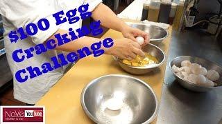 $100 Egg Cracking Challenge - See Description Box For Details