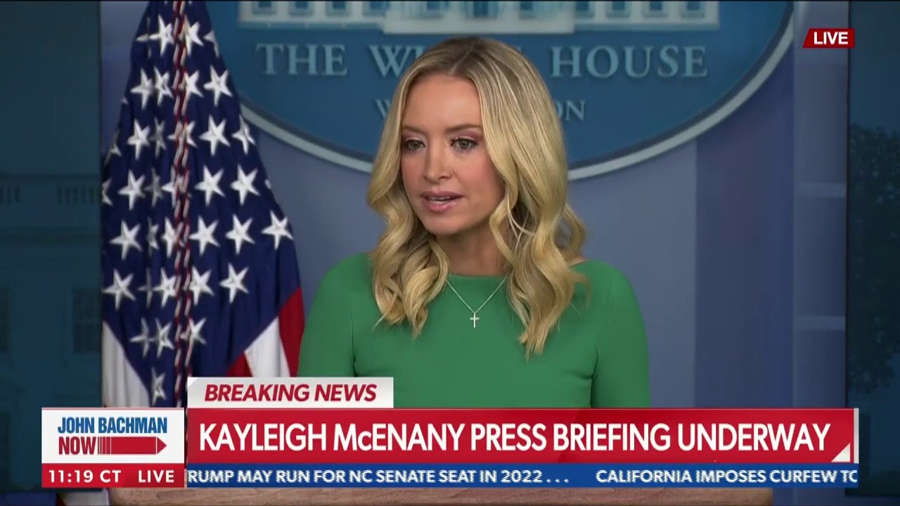 Nov. 20: McEnany clashes with reporters over pandemic, voter issues