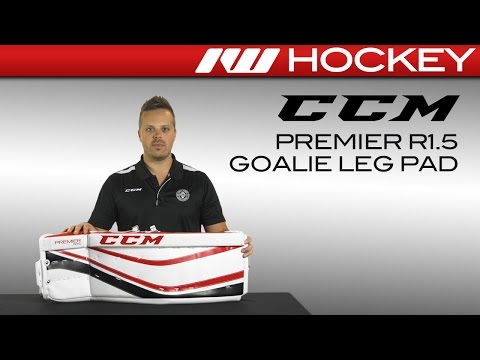 CCM Premier R1 5 Leg Pad Review - YouTube