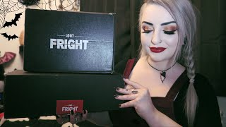 Loot Fright - Double Horror Subscription Box Unboxing !