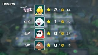 Super Mario Party Whomp's Domino Ruins #47 Koopa Troopa vs Boo vs Shy Guy vs Goomba