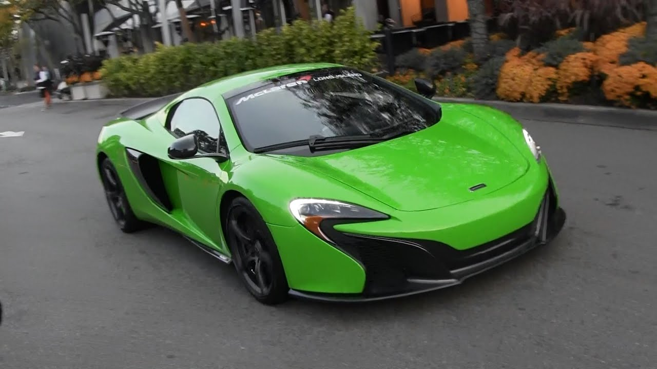 Mantis Green McLaren 650S! - YouTube
