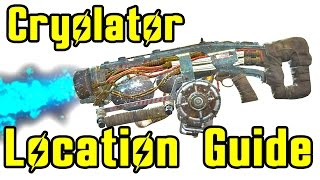 Fallout 4 Powerful Weapon at Level One Cryolator Location NO LOCKPICKING