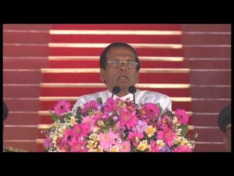 The Commissioning & Passing Out Parade at Sri Lanka Air Force (SLAF) Academy - Full Speech