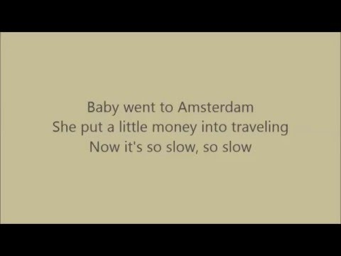 Peter, Bjorn and John - Amsterdam (with Lyrics)
