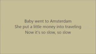 Peter, Bjorn and John - Amsterdam (with Lyrics)