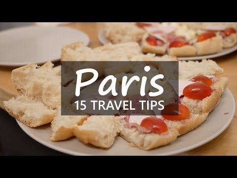 15 travel tips for Paris