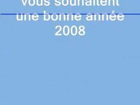 message 2008 des Gilles de B'heinsch