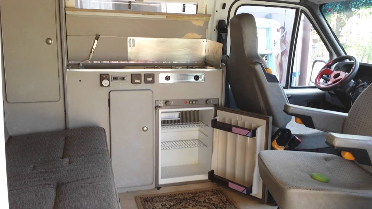 Ford Transit Caravan Youtube