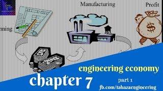 الاقتصاد الهندسي Chapter 7 Part 1 engineering Economy
