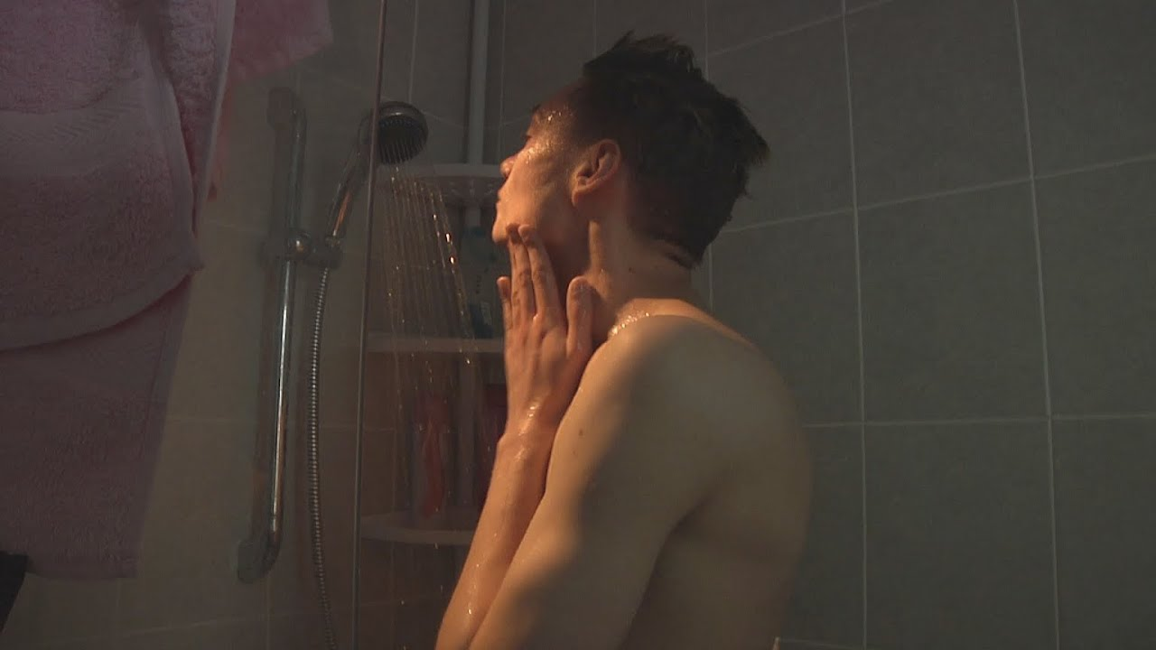 Mature Gay Shower
