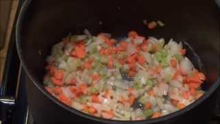 Pintober- Creamy Chicken Noodle Soup