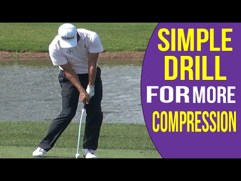 Golf Impact Position - Get MORE compression