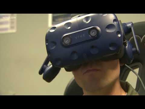 Randolph Air Force Base using virtual reality for pilot training