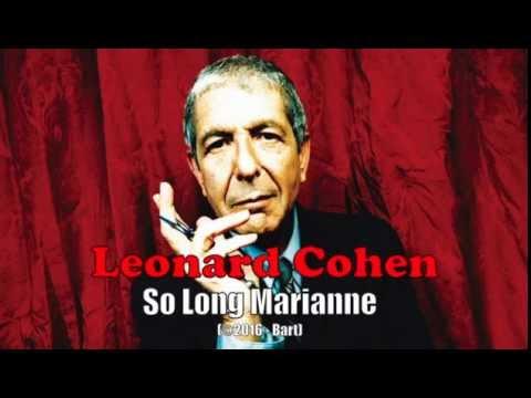 Leonard Cohen - So Long Marianne (Karaoke)