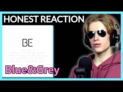 HONEST REACTION to BTS - 'Blue & Grey' | BE Album Listening Party PT2