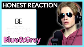 HONEST REACTION to BTS - 'Blue & Grey' | BE Album Listening Party PT2