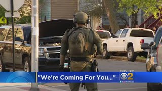 Police Conduct Raids In Search For Suspect Who Shot ATF Officer