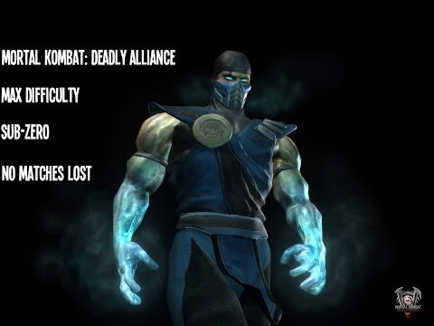 Mortal Kombat: Deadly Alliance - Sub-Zero - Max Difficulty - No Matches Lost