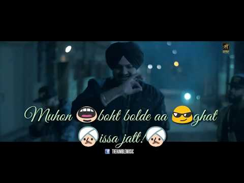 Issa Jatt || Sidhu moose wala || Punjabi Song Whatsapp Status