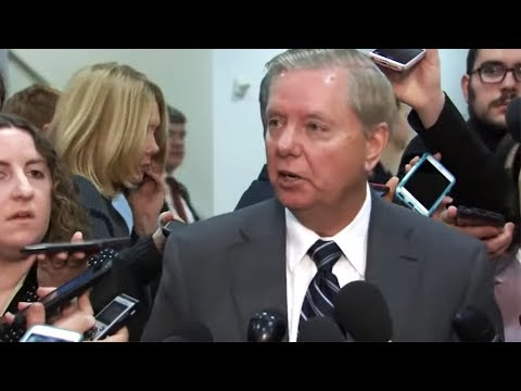 Lindsey Graham Admits to Being a Total Hypocrite on Camera