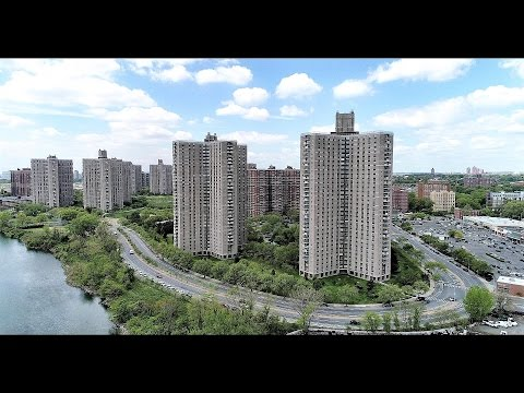 Aerial View of Co-op City, Bronx. P.-2. 4K