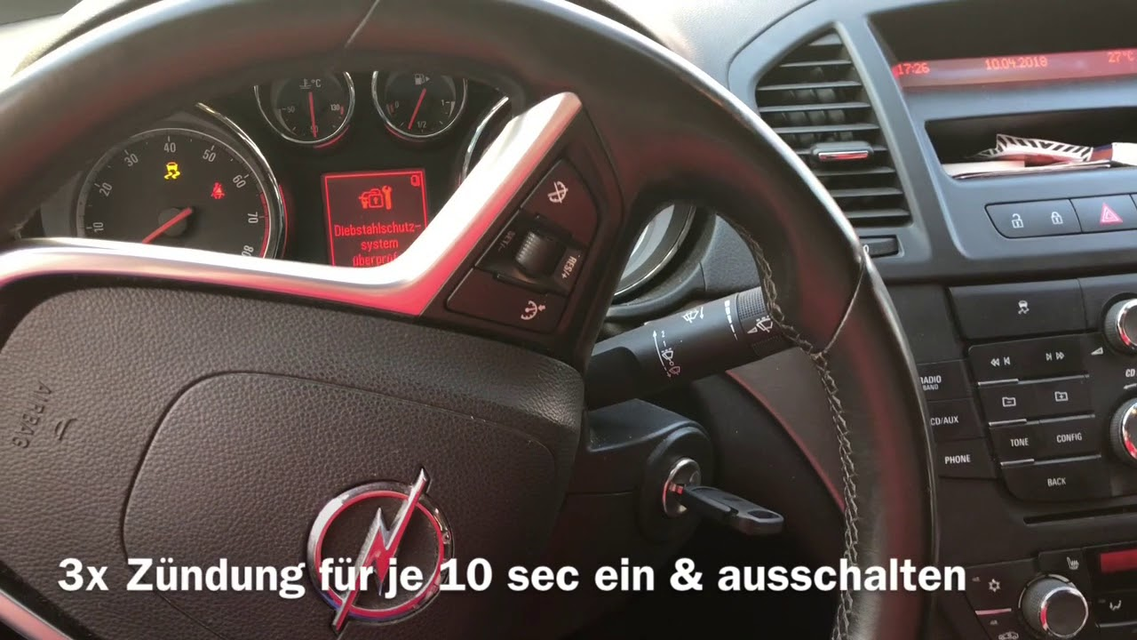 opel insignia schl ssel nachmachen youtube. Black Bedroom Furniture Sets. Home Design Ideas