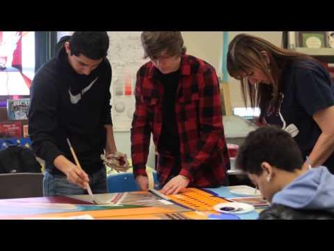 New Dorp High School Thrive Mural Update