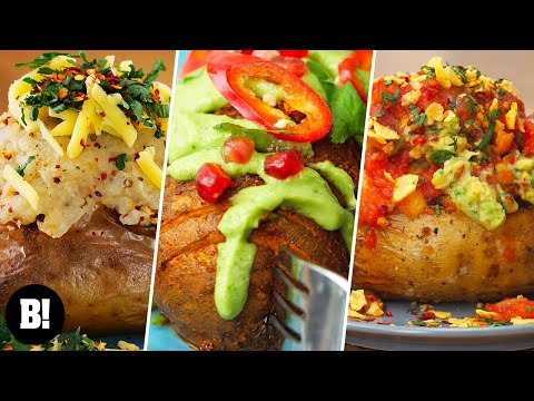 5 Easy, Tasty Potato Recipes (Vegan)