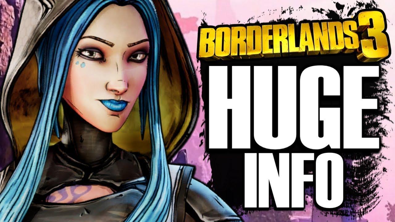 Borderlands 3 HUGE INFO! Why Maya Left Pandora, Cross-Platform Play, & More! thumbnail