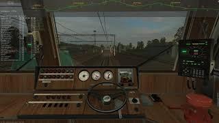 ZDSimulator - Сценарии на допуск к мультиплееру - электропоезд №6712