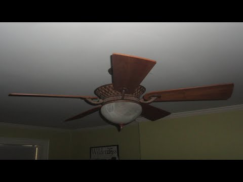 Hampton Bay Bali Ceiling Fan Youtube