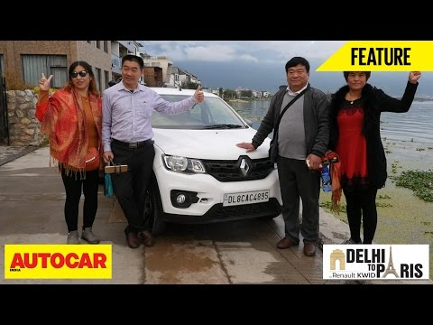#KwidDrive2Paris | Webisode 03 | Renault Kwid, Welcome China | Autocar India
