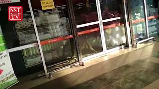 Babi hutan masuk pasar raya