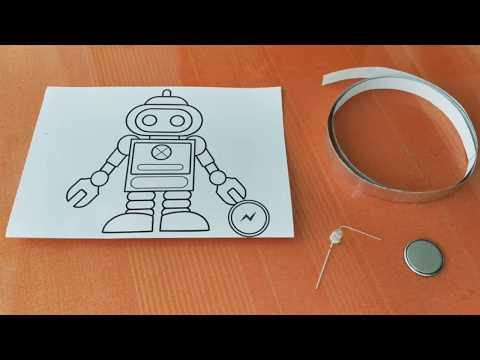 DIY Paper circuit - Tutorial 01