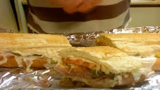 Hot Ham and Cheese Sandwich with Michaels Home Cooking YouTube Videos