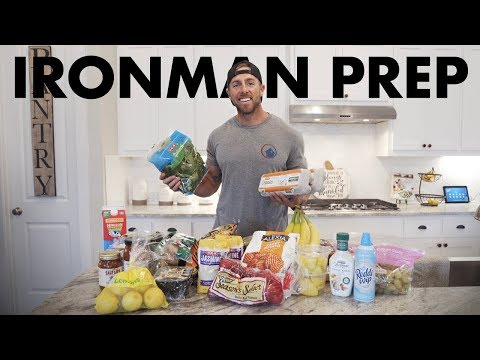 The Groceries I Buy During Ironman Training