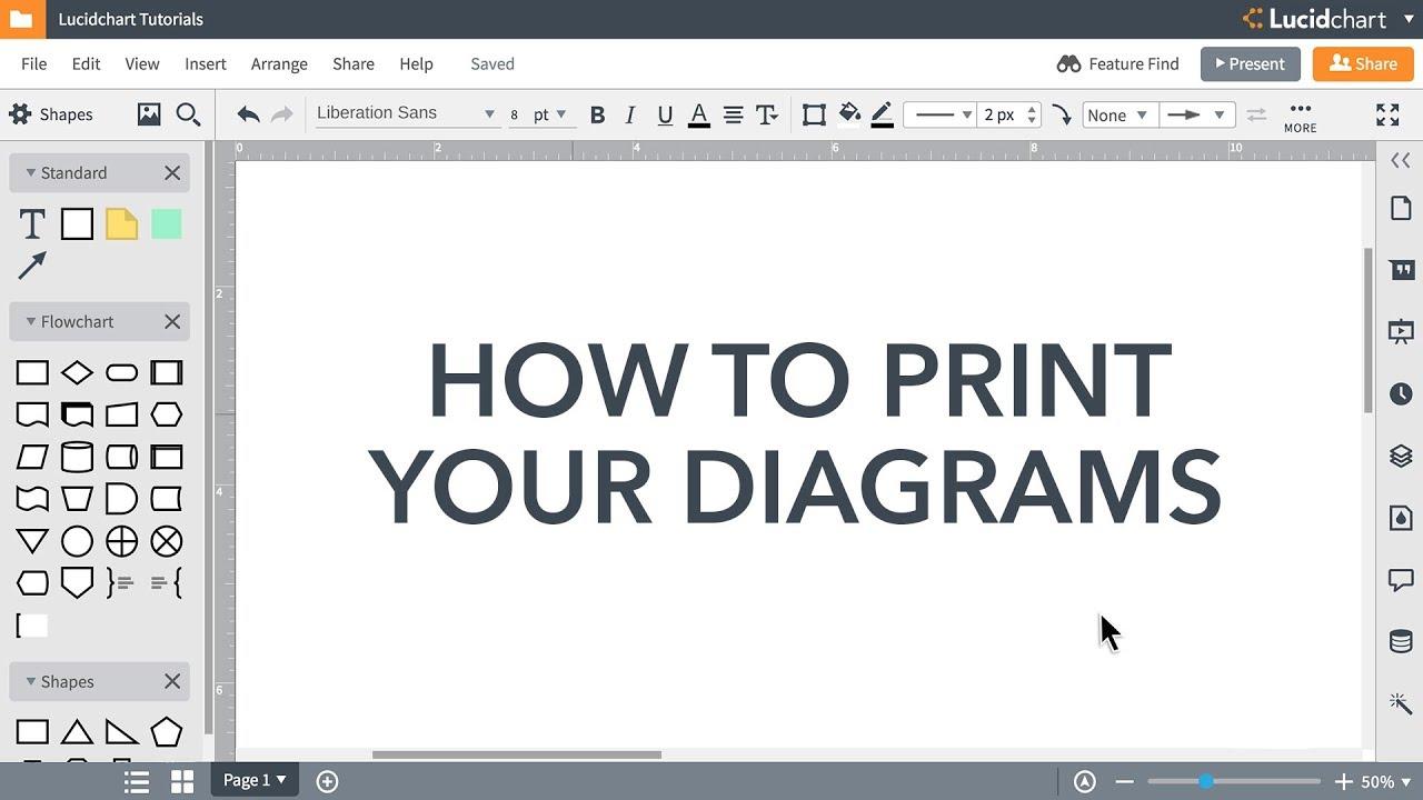 Lucidchart Tutorials - Print your Lucidchart document
