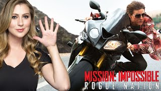 MISSION IMPOSSIBLE ROGUE NATION - Movie Review!