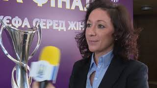 Надін Кесслер про презентацію старту продажів на фінал жіночої ЛЧ-2018