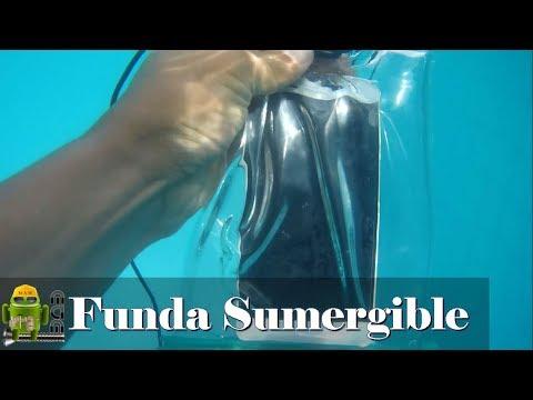 Como Hacer Una funda WaterProof (sumergible) para Smartphone Muy Facil