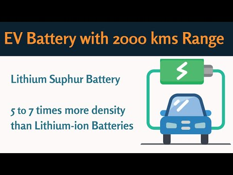 2000km Electric Car Range with Lithium Sulphur Battery | #eCharged