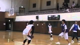バスケット【前半戦】DUST vs ビジカルク②